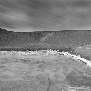 A'Zing' or a reservoir near Phey village, Ladakh